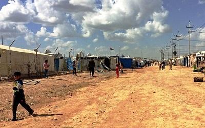 Alwand Refugee Camp