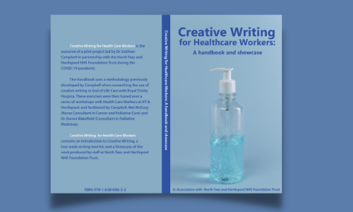 Book jacket for Creative Writing for Healthcare Workers