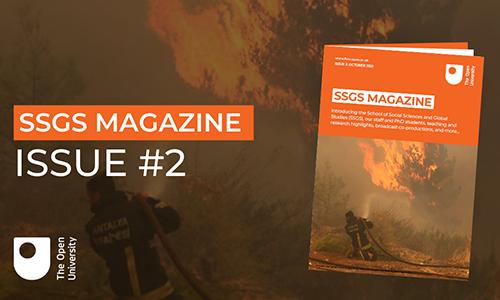 SSGS magazine cover