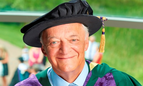 Clive Emsley on his receipt of an honorary doctorate from Edge Hill University