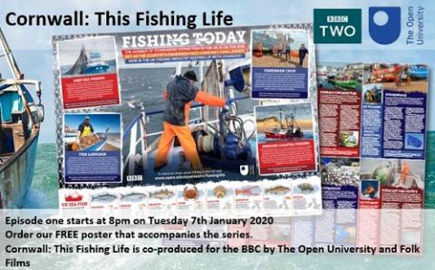 Cornwall: Fishing Life poster
