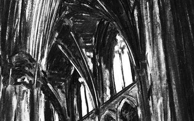 Downside Abbey 2019 by Oscar Mather, Lynch Architects