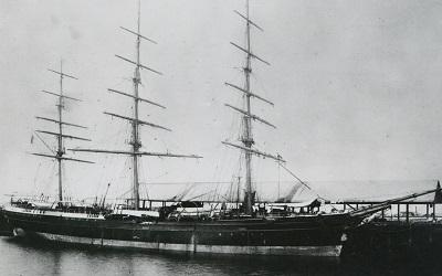 Photo of the Torrens ship, State Library of South Australia (no copyright restrictions)