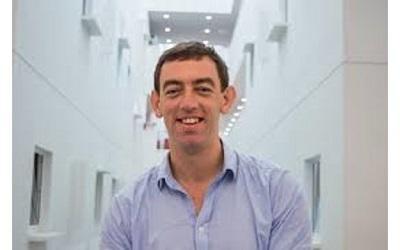 Image shows Dr Rory Horner smiling