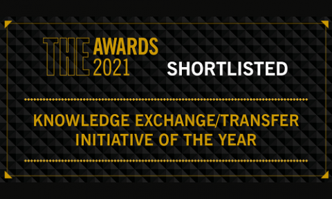 THE Awards shortlisted entry 2021