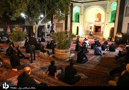 Ceremonies of Ashura with keeping the social distance