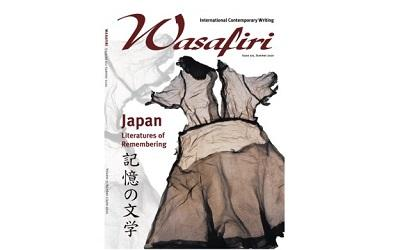 Image credit - Cover of Issue 102, Summer 2020 Special Issue: Japan: Literatures of Remembering