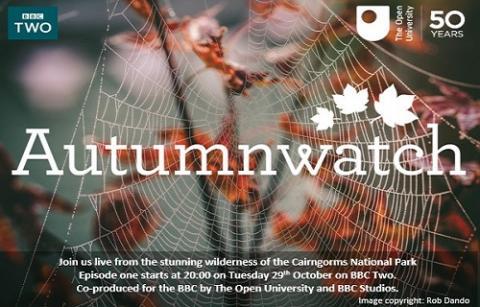 Autumn Watch programme flyer